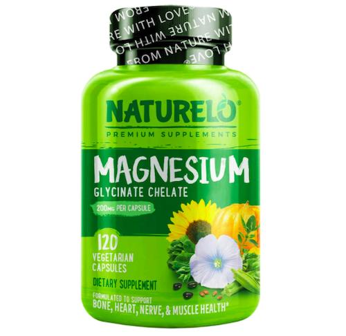 NATURELO Magnesium Glycinate Supplement