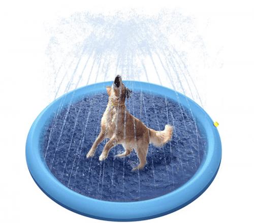 Peteast Sprinkler Pad, best dog pools