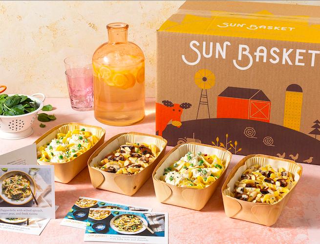 sun basket meal kit