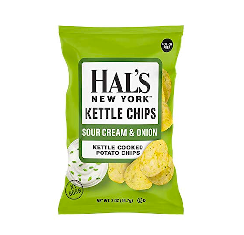 Hal's New York Kettle Cooked Sour Cream & Onion Chips