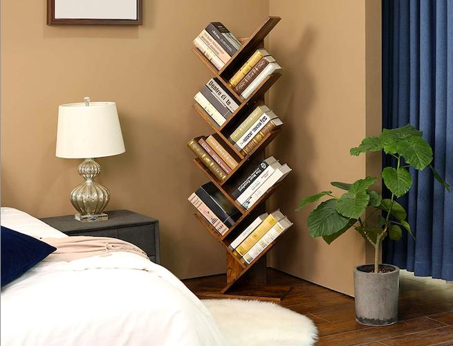 VASAGLE 8-Tier Tree Bookshelf