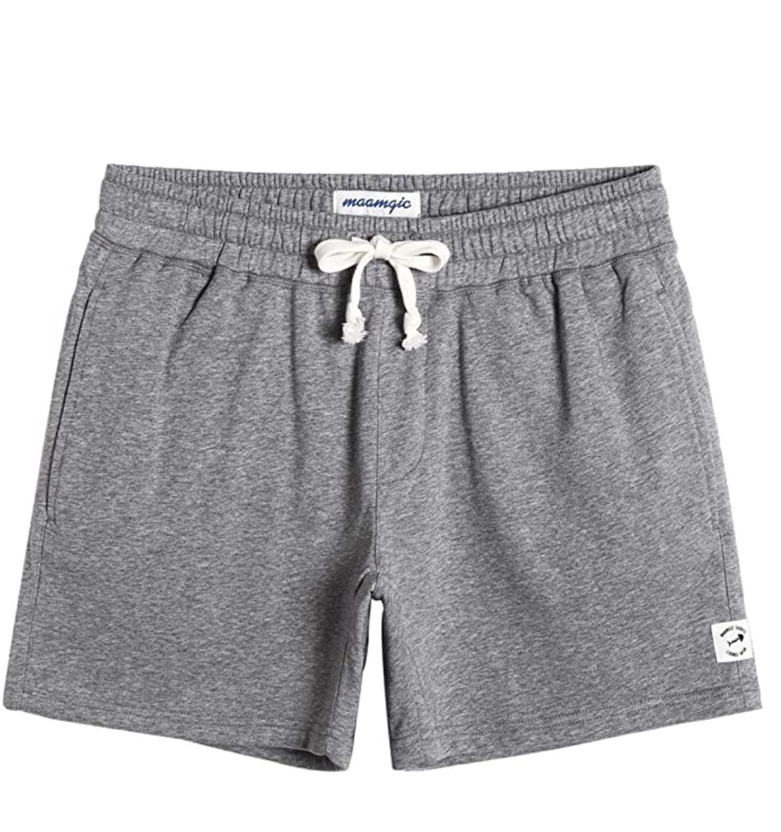MaaMgic Mens Athletic Gym Shorts