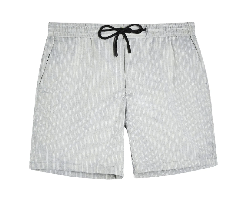 Topman Stripe Regular Fit Pull-On Shorts