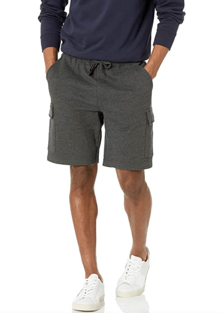 Amazon Essentials Men's Fleece Cargo Short