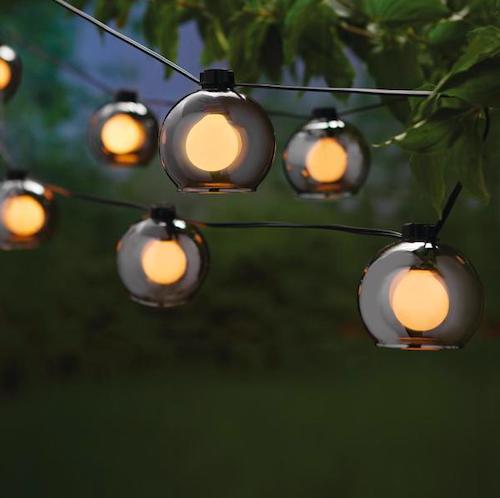 Hampton Bay G-Type Bulb Incandescent String Light