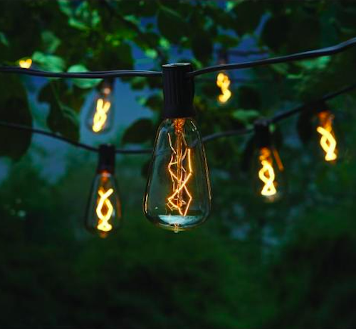 Hampton Bay Light Line Voltage ST40 Vintage Bulb String Light