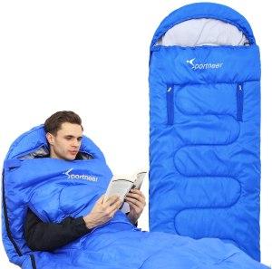 sportneer sleeping bag wearable