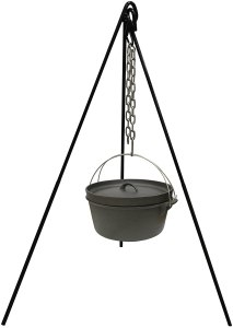cooking tripods stansport cast iron