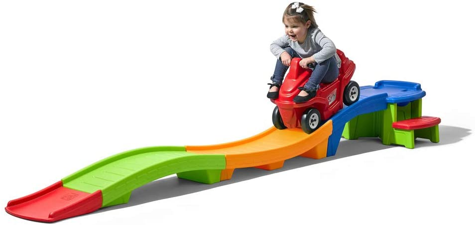 Step2 Up & Down Roller Coaster Rapid Ride & Hide
