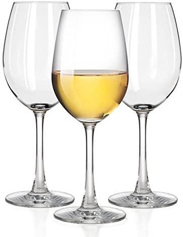 Taza White Wine Glasses