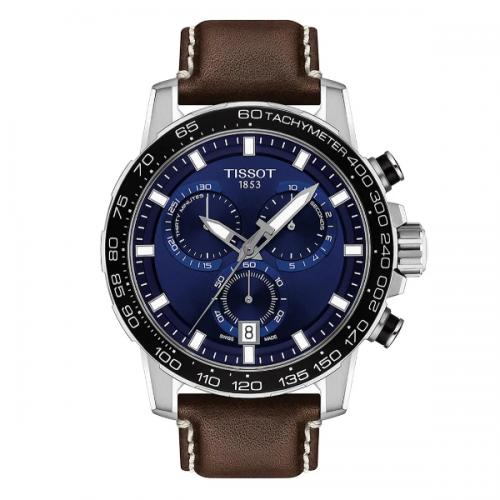 Tissot Supersport Blue Face Watch