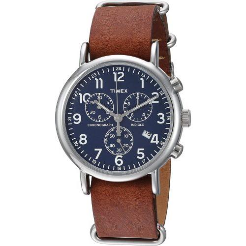 Timex Weekender Blue Face Watch
