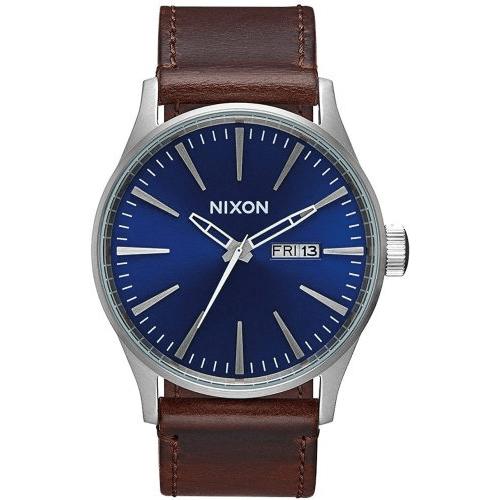 Nixon Sentry Blue Face Watch