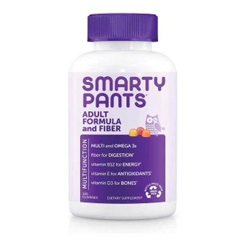 Smarty Pants Adult Formula and Fiber, Best Fiber Supplements