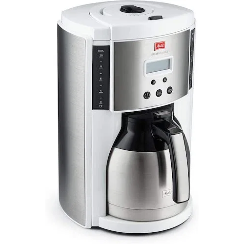 Melitta Aroma Enhance Drip Coffee Maker with Double Wall Vacuum Stainless Steel Carafe