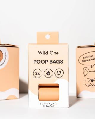 wild ones biodegradable poop bags