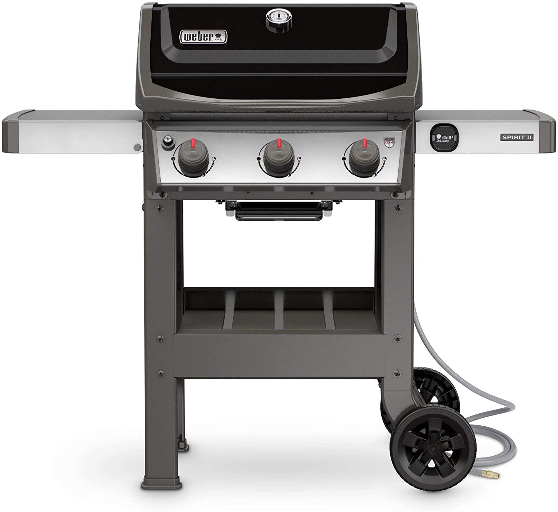 Weber Spirit II E-310 3-Burner Natural Gas Grill; best natural gas grills