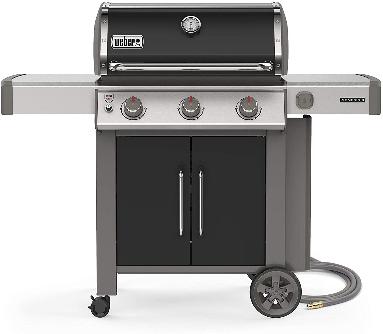 Weber Genesis II E-315 3-Burner Natural Gas Grill; best natural gas grills
