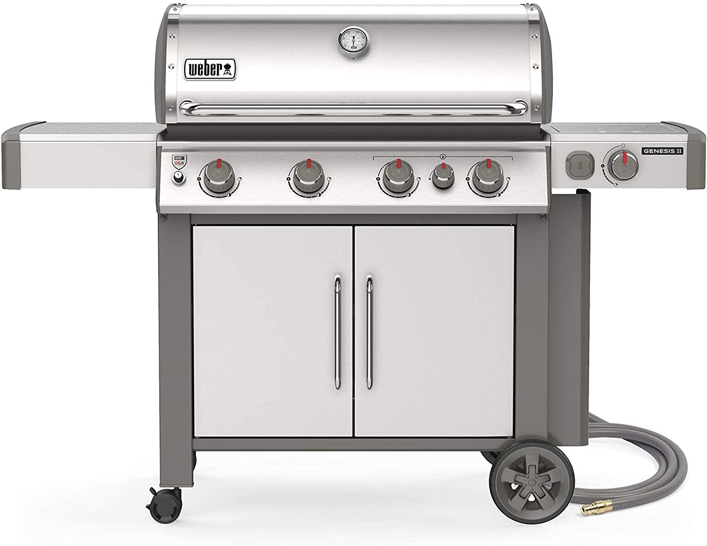 Weber Genesis II S-435 4-Burner Natural Gas Grill