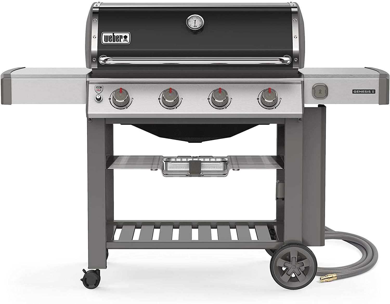 Weber Genesis II E-410 Natural Gas Grill; best natural gas grills