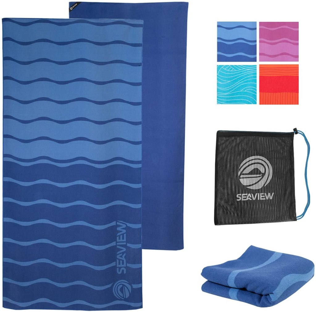 WildHorn Akumal Microfiber Beach Towel