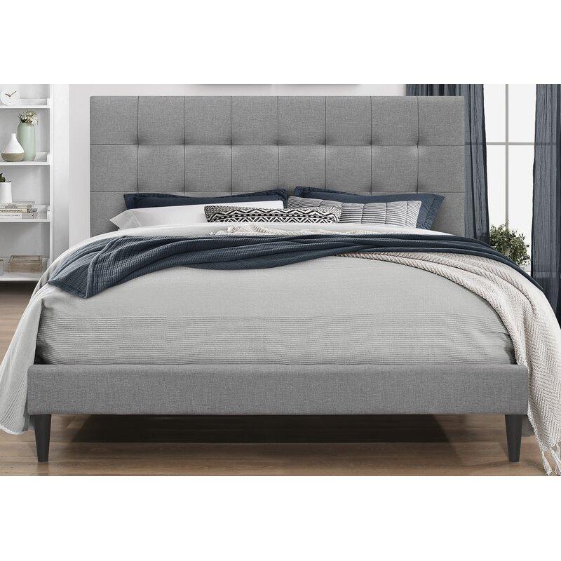 Zipcode Design Forsan Tufted Platform Bed