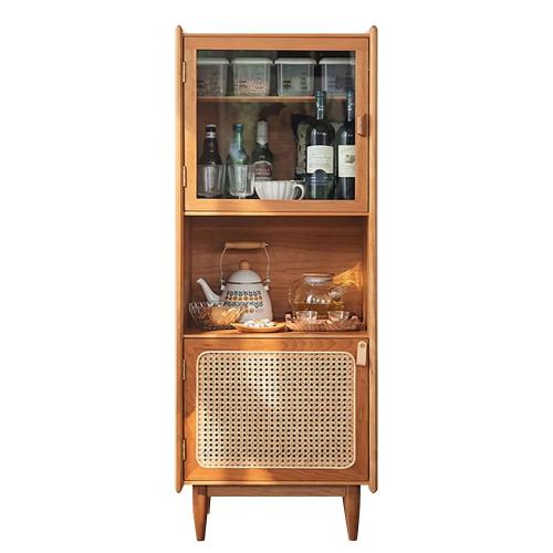 nordic natural bar cabinet