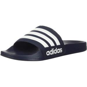adidas shower slide sandals, gym bag essentials