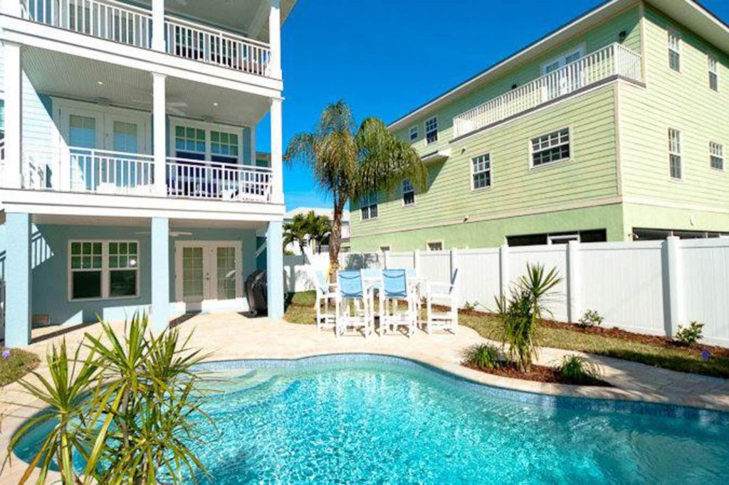 anna maria vacation rental with private pool