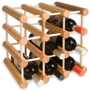 J.K. Adams ash wood wine rack, how to store wine