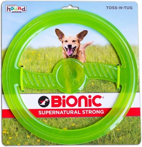 bionic by outward hound dog toy, frisbees for dogs