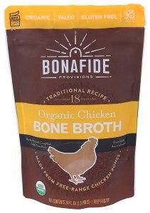 bonafide provisions chicken bone broth, best bone broths