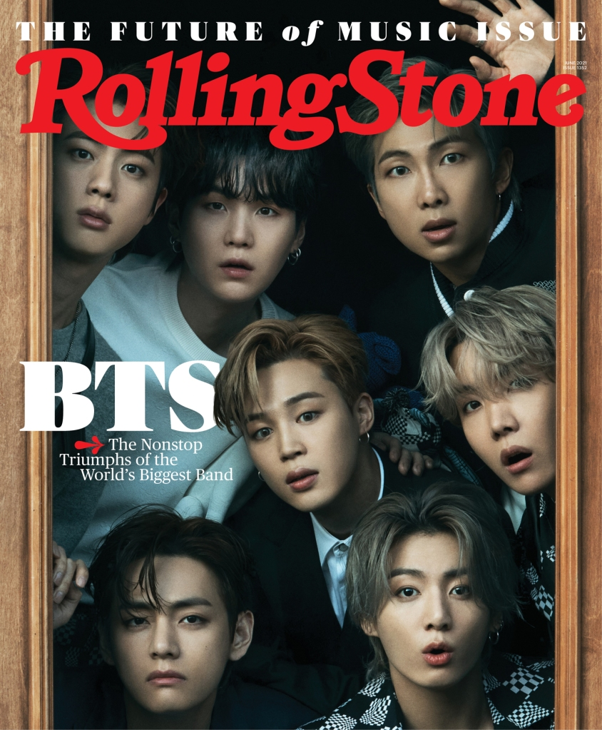 bts rolling stone cover june 2021