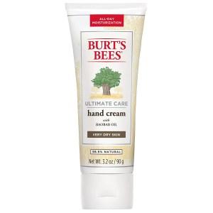 burt's bees hand cream, best hand lotion
