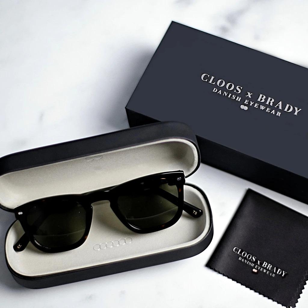 Cloos X Brady Espresso Sunglasses, best mens sunglasses
