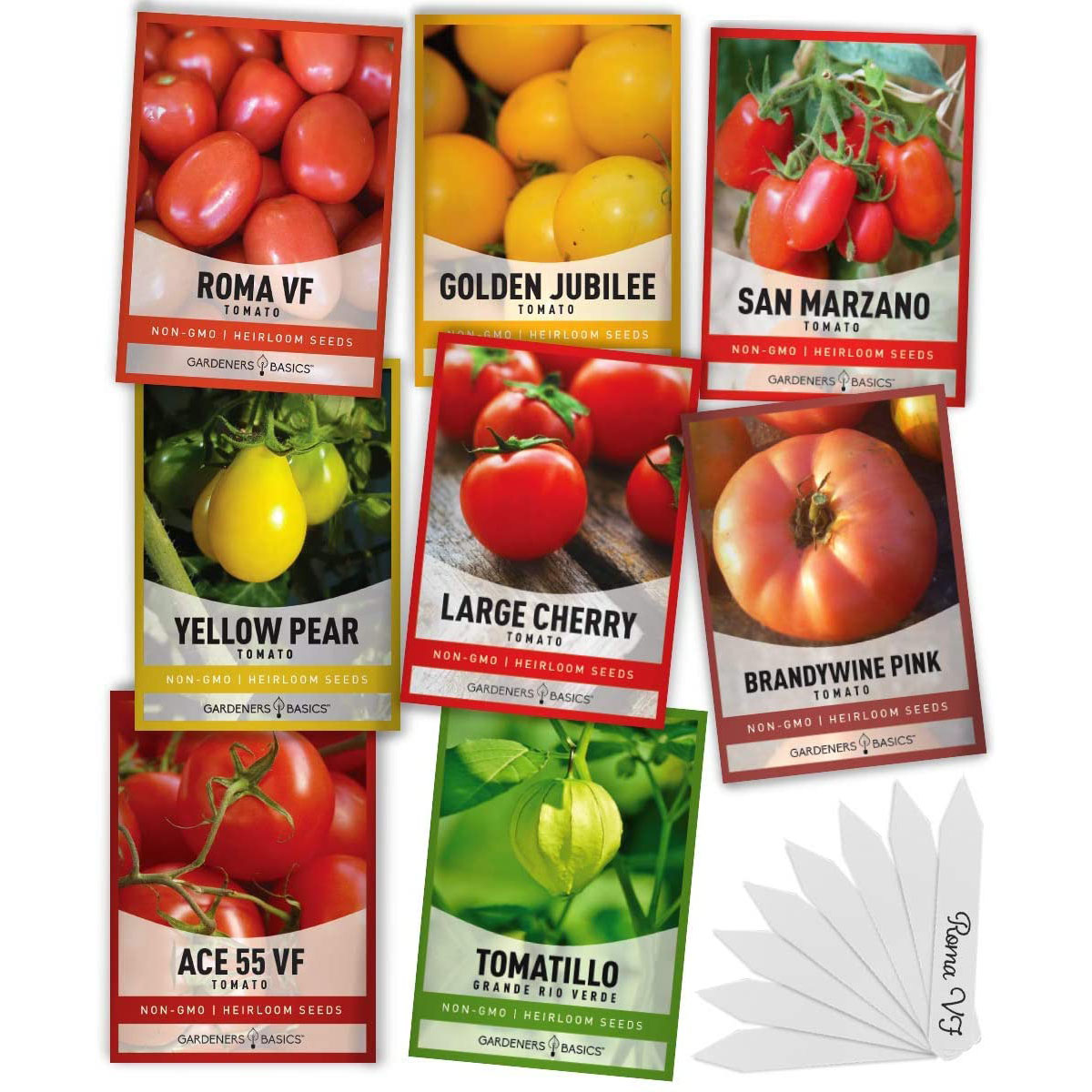 Gardeners Basics Heirloom Tomatoes for Planting