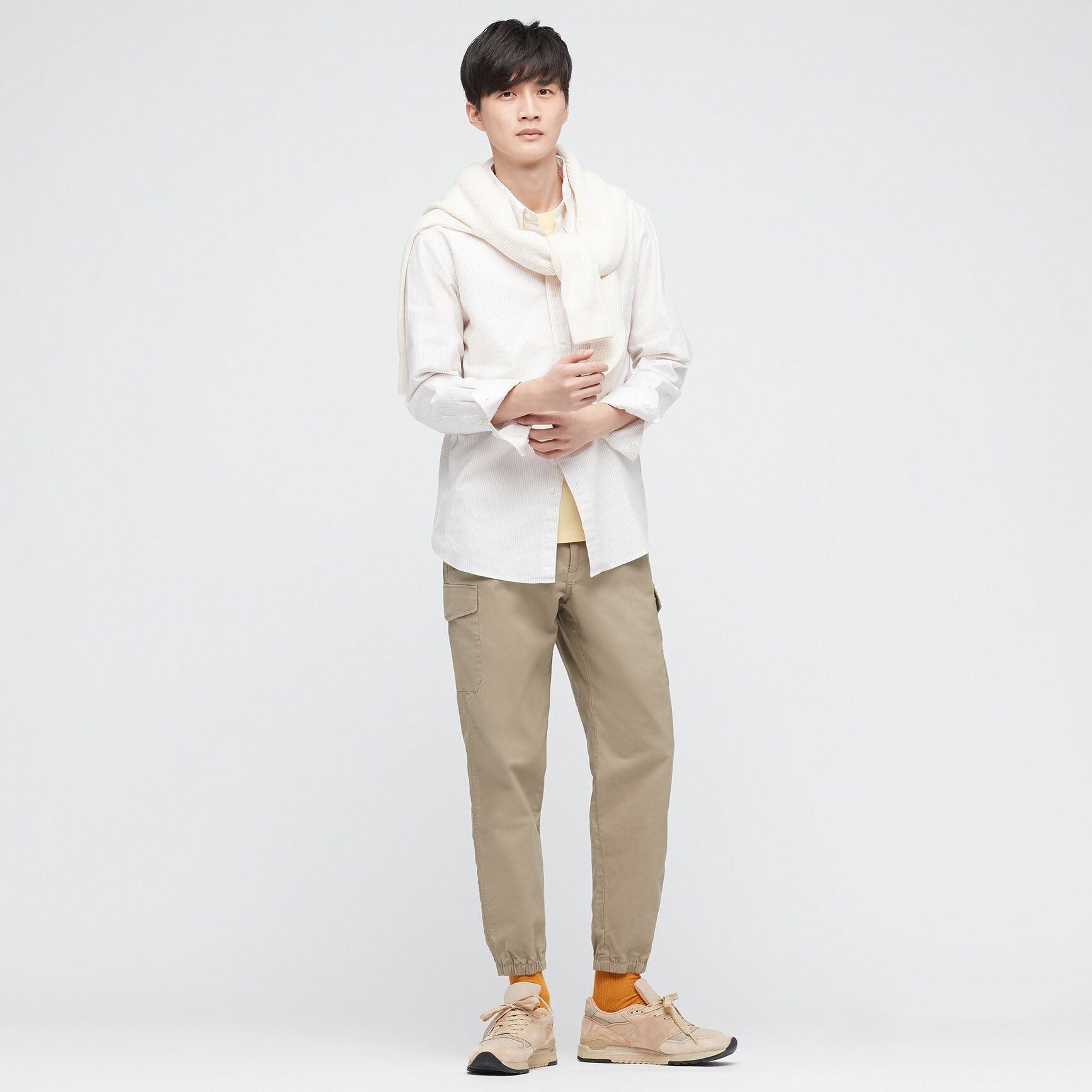 Uniqlo Men's Cargo Jogger Pants