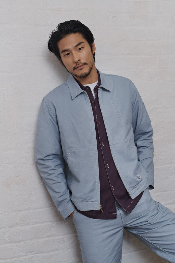 Takayuki Suzuki wearing Dickies