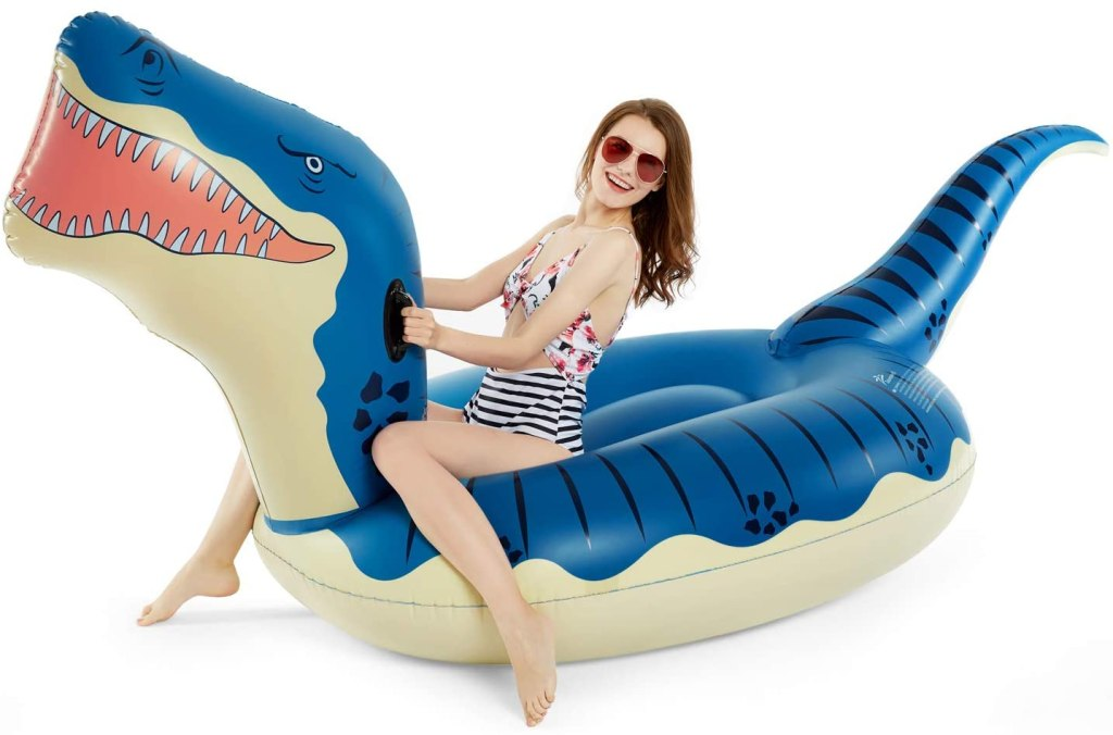 giant pool floats for adults, t-rex
