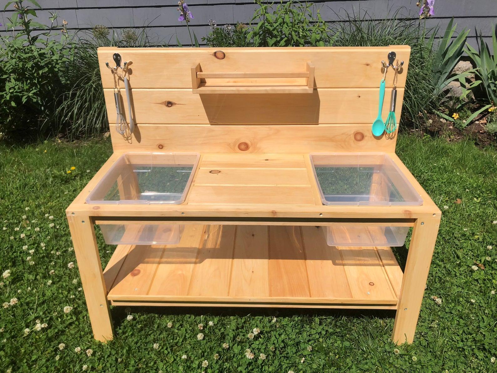 MonarchStudioShop double sink mud kitchen