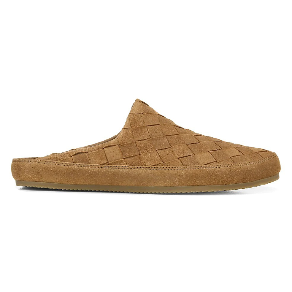 Vince Alonzo 2 Woven Suede Slippers