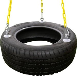 eastern jungle gym black chains tire