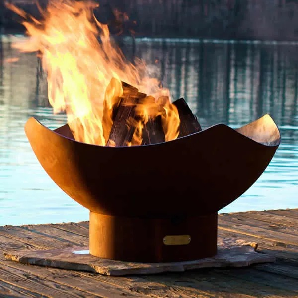 Woodland Direct Manta Ray Fire Pit