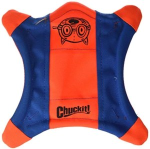 chuckit! flying squirrel dog toy, frisbees for dogs