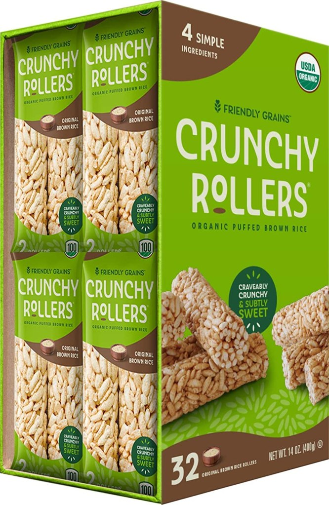 Friendly Grains Crunchy Rice Rollers