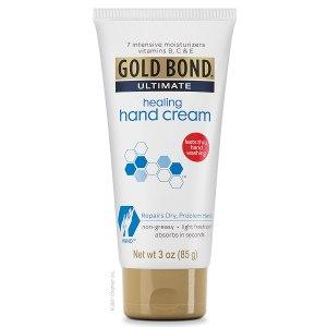 gold bond intensive healing hand cream, best hand lotion