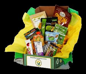 healthy surprise snack box
