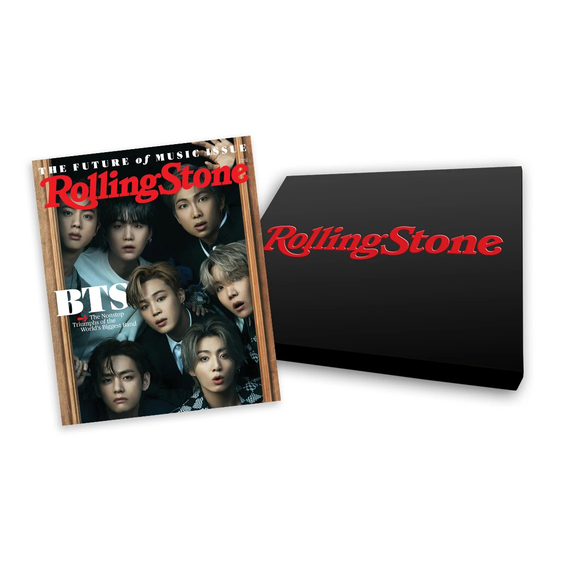 Rolling Stone Collector's Edition Box Set featuring BTS