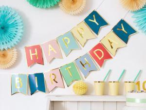 hooraydays happy birthday banner