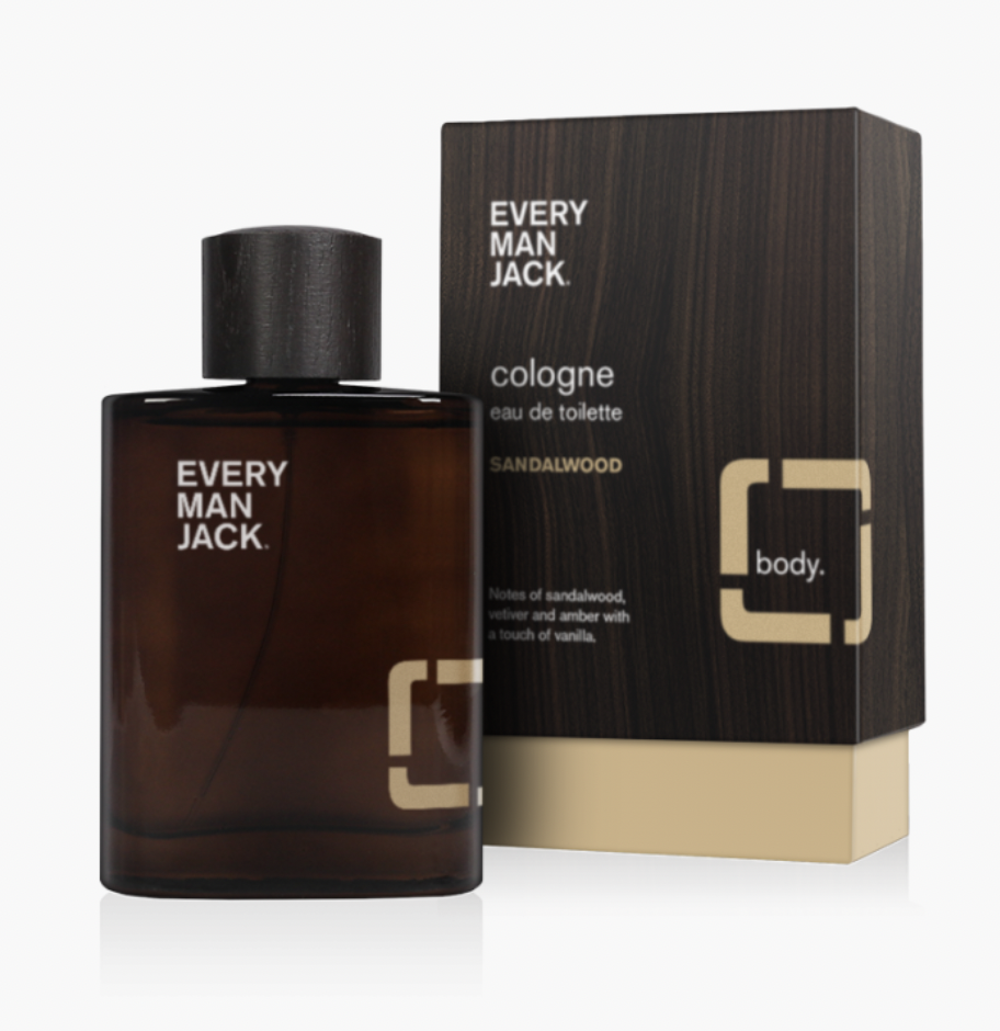 Every Man Jack Sandalwood Cologne, Best Colognes for Father's Day